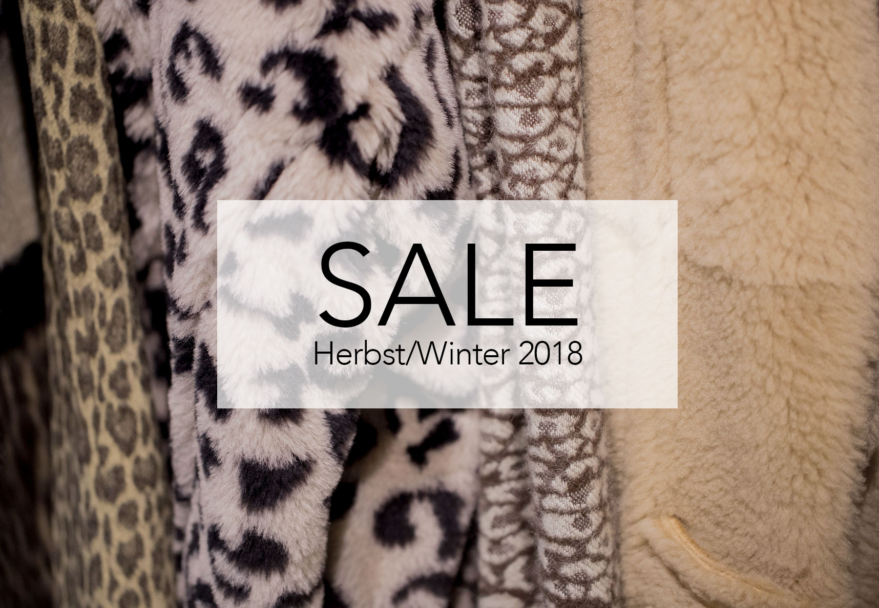 FALL WINTER 2018 SALE