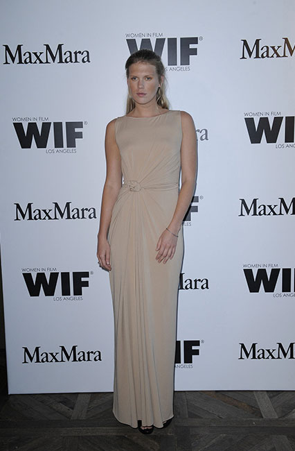 Alexandra Richards in Max Mara