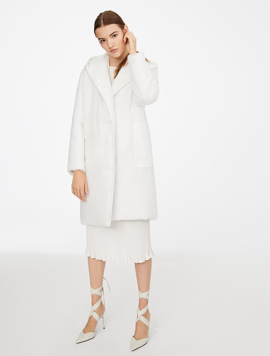 Mantel Anima Coat aus Seide und Kamelhaar