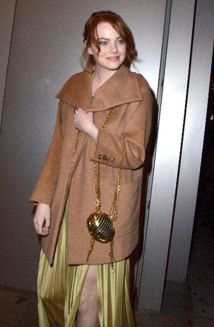 Emma Stone in Max Mara