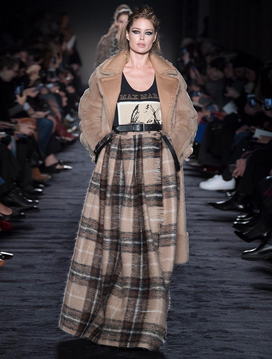 Abrigo de lana Lacon efecto cachemira