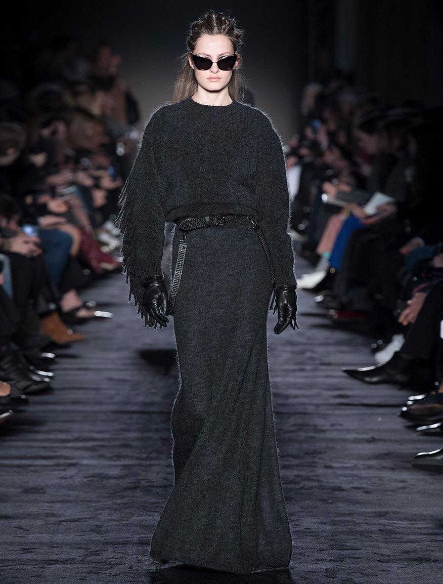 Jersey de hilado de lana mohair