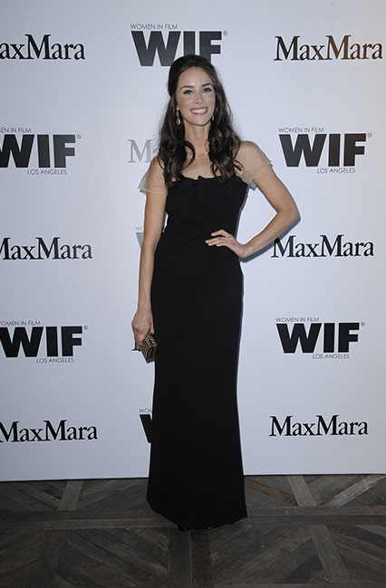 Abigail Spencer in Max Mara