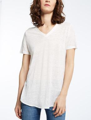 리넨 저지 티셔츠