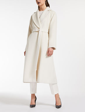Alpaca and wool coat