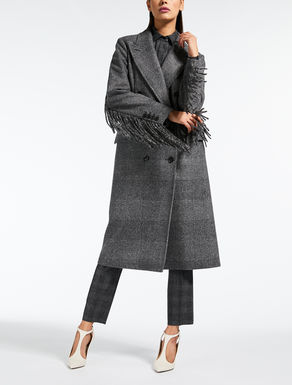 Wool felt coat
