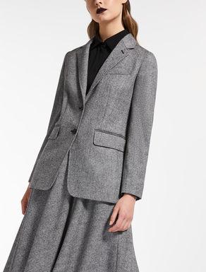 Blazer en lana y cachemir