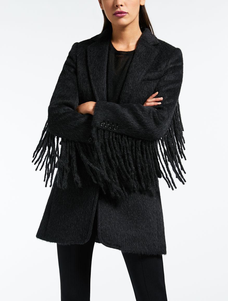 Abrigo de lana y alpaca