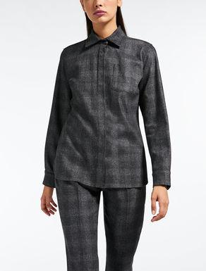 Camisa de franela de lana