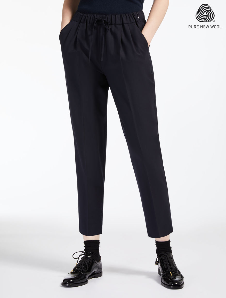 Pantaloni in lana extrafine