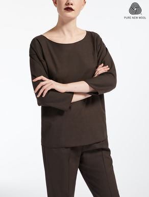 Extra-fine wool blouse