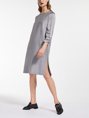Fulled wool dress