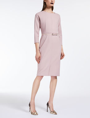 Wool crepe dress