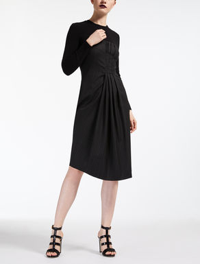 Wool twill dress