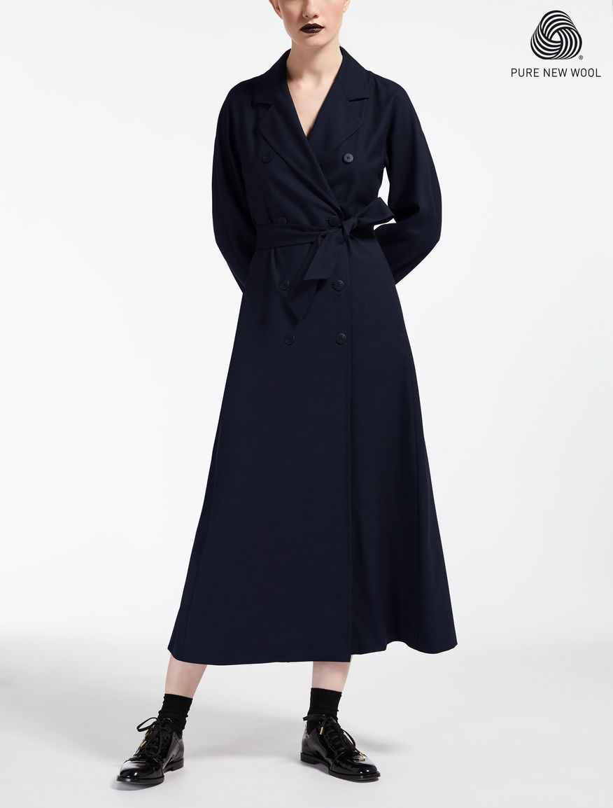Extra-fine wool dress