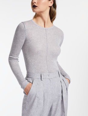 Silk and cashmere jumper