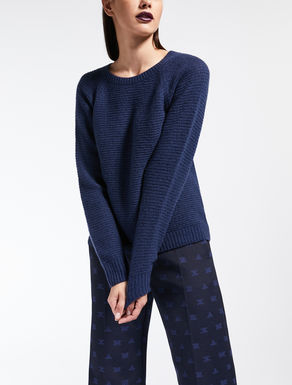 Cashmere and silk jumper