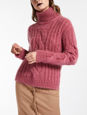 Wool mohair jumper