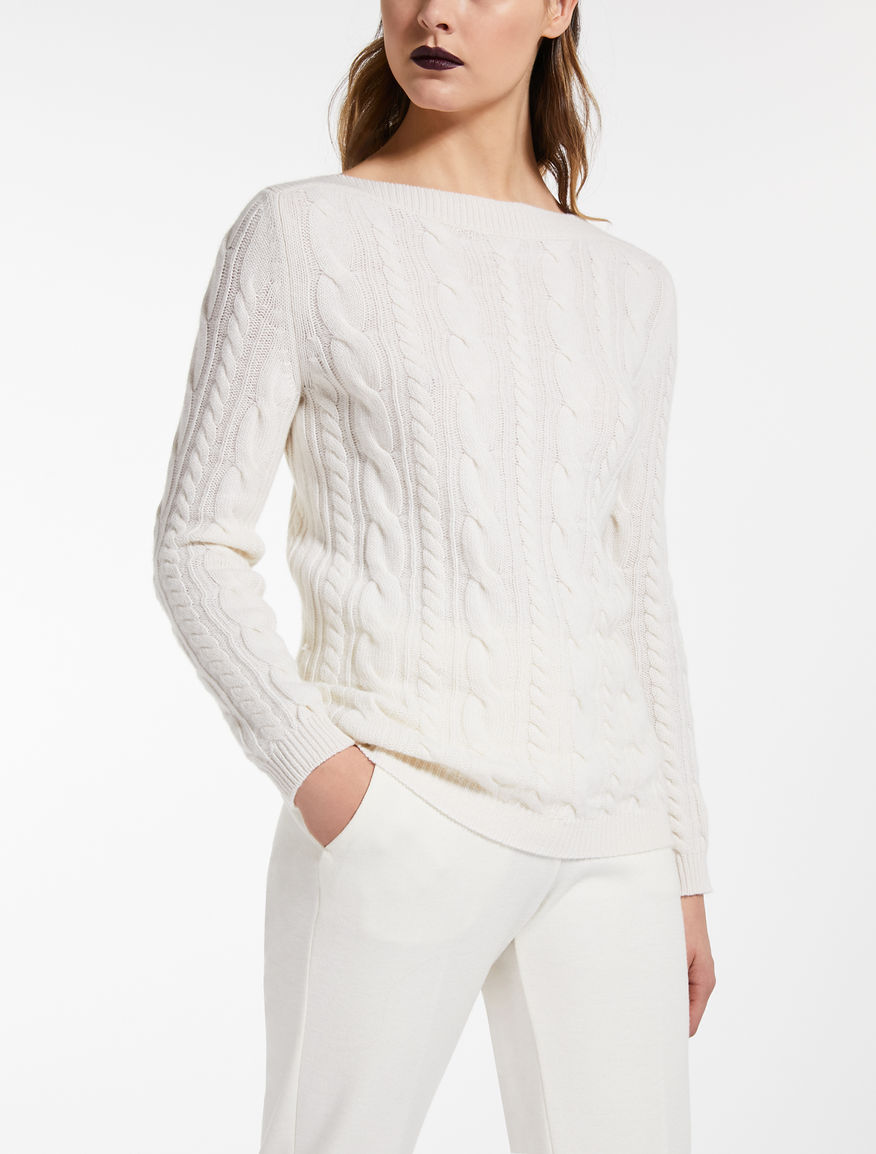 Cashmere and wool jumper