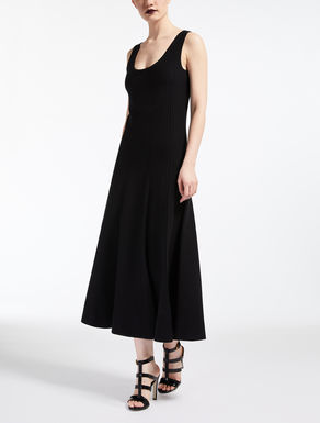 Viscose crepe dress