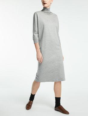 ウール コットンジャージー ドレス