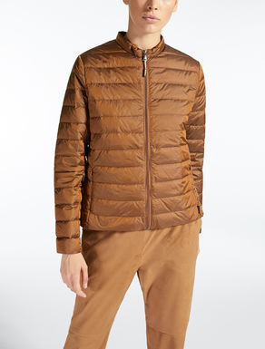 Water-repellent nylon canvas jacket