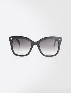Eckige Oversize-Sonnenbrille