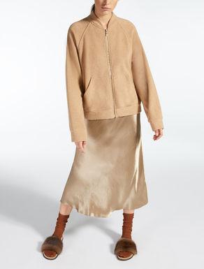 Veste en poil de chameau