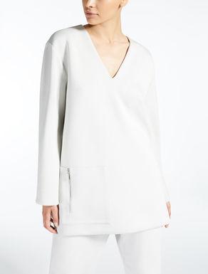 Scuba fabric tunic