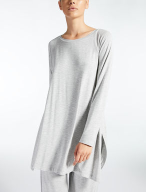 Stretch viscose tunic