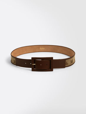 Jacquard fabric belt