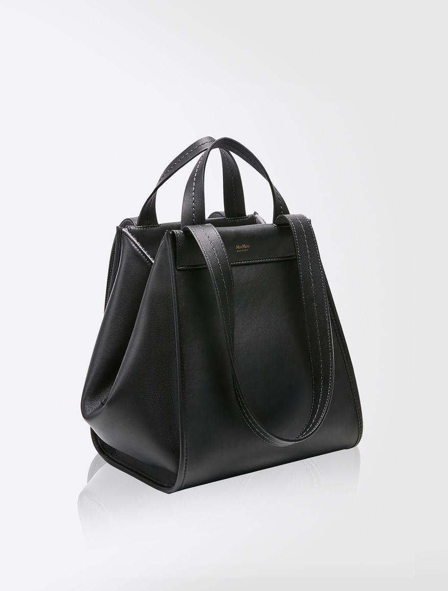 [アニータ]レザー カシミヤ バッグ