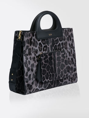 Bolso shopper reversible