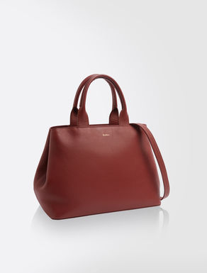 Sac shopping en cuir