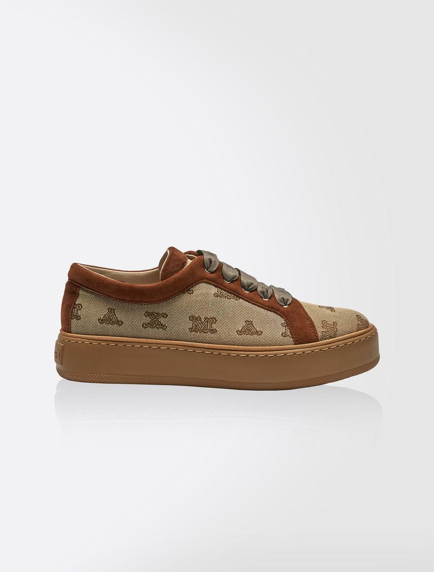 Zapatillas de tela con logotipo