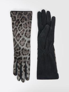 Handschuhe aus Pferdefell und Leder