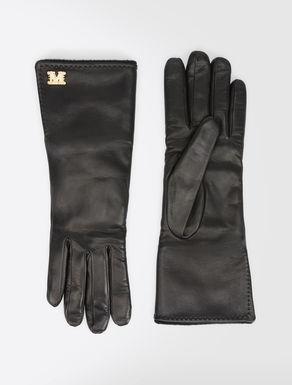 Handschuhe aus Nappaleder und Kamelhaar