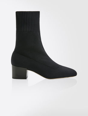 Bottines en maille stretch