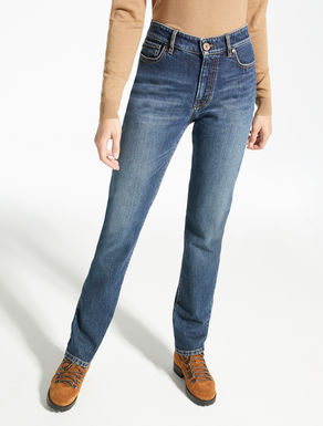 Cotton denim jeans