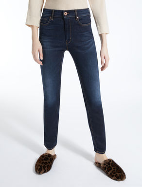 Skinny-fit denim jeans