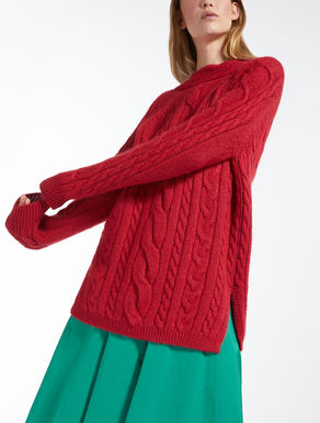 Mohair knit sweater