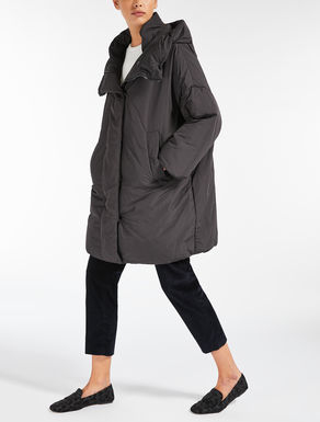 Water-repellent canvas down coat