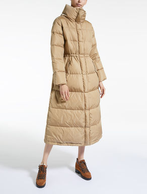 Water-repellent nylon taffeta down coat