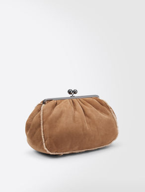 Shearling Maxi Pasticcino Bag