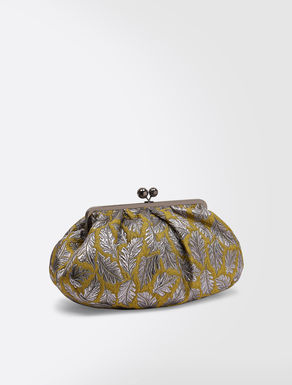 Maxi Pasticcino Bag in jacquard fabric