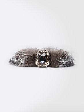Fox fur bracelet