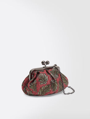Mini Pasticcino Bag in jacquard fabric
