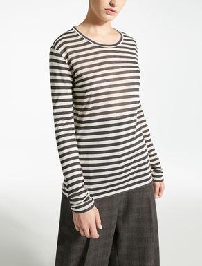 Wool gauze jumper