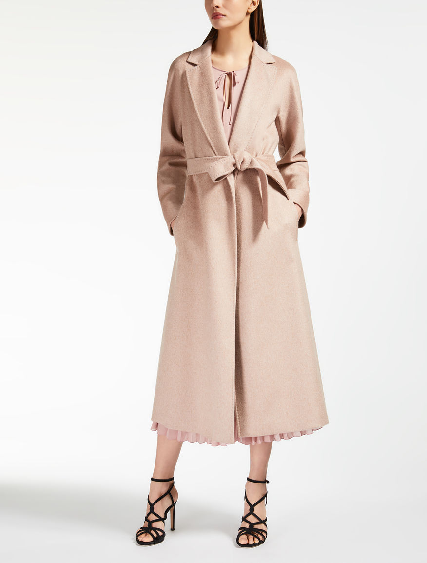 Camel and cashmere coat