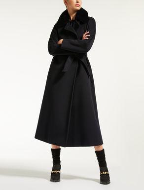 Beaver wool coat
